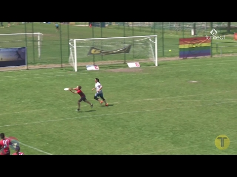 Tom's Tourney 2017 - Yaka vs Italie U24 - Ultimate frisbee