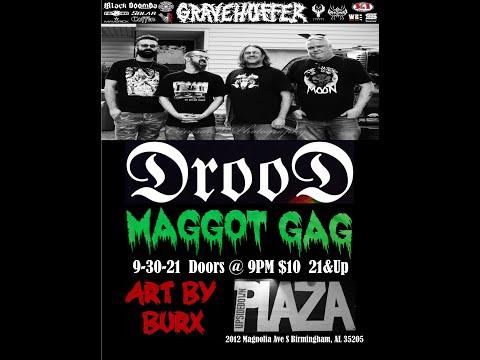 Gravehuffer - Live @ Upsidedown Plaza, Birmingham, AL Sept. 30th 2021