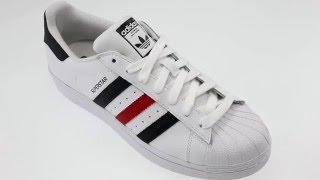size 40 066a2 02681 Adidas SUPERSTAR FOUNDATION witte lage sneakers