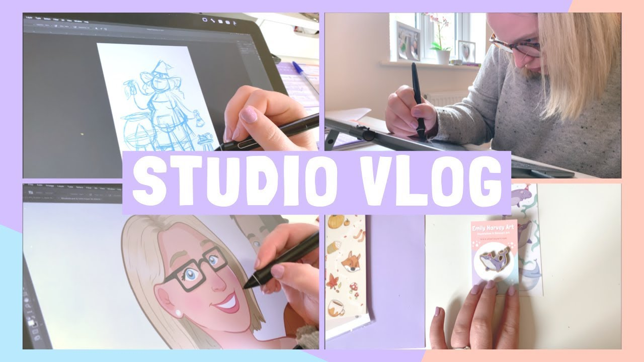 STUDIO VLOG | Why I don't do Inktober & a Mental Health chat | 011
