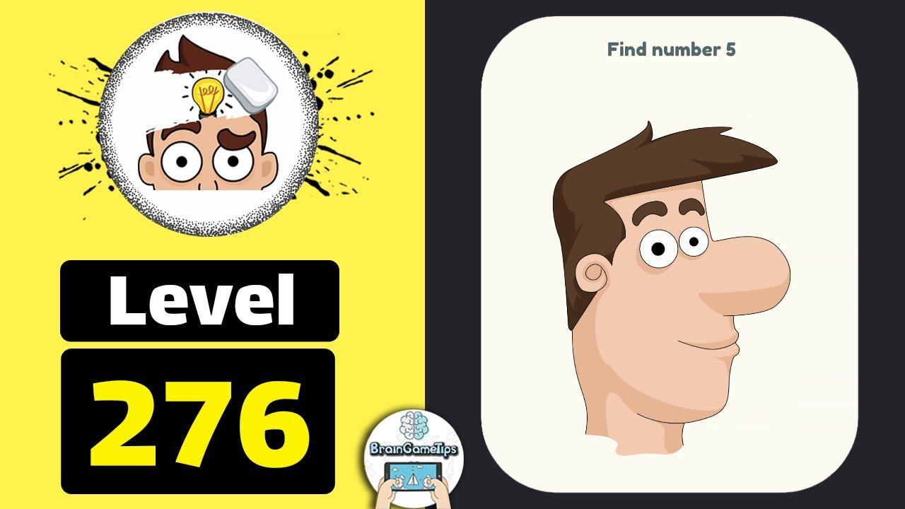 Dop 2 Level 276 Find Number 5 Walkthrough Youtube