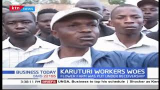 Karuturi flower workers plight