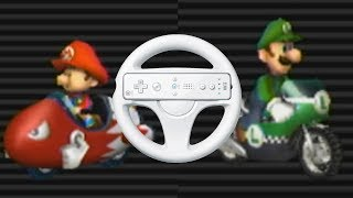 Two sore losers play Mario Kart Wii together