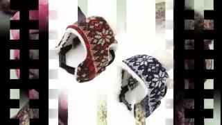 шапка для собаки зимняя