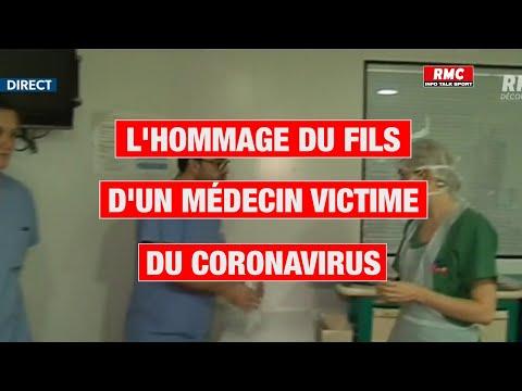 Témoignage RMC, l'hommage du fils d'un médecin victime du coronavirus