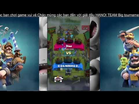 Clash Royale - Giải đấu HANOI BIG TOURNAMENT T7 Ngày 1 - Stream