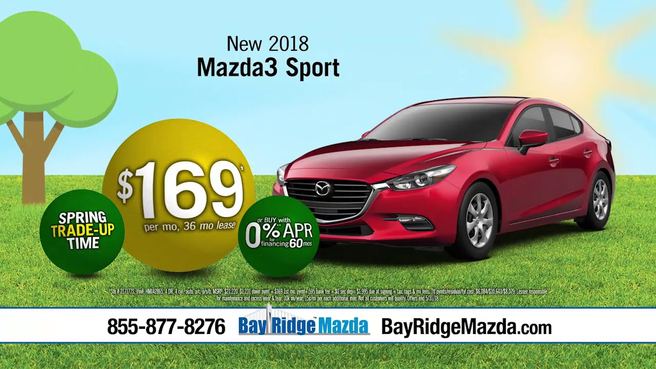 Bay Ridge Mazda >> Brma1805a30h Trade Up Mazda A30 V02 Youtube