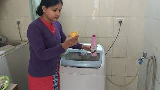 Indian woman laundry routine in hindi / simple & easy washing cloths tips & hacks