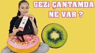 Çantamda Ne Var , Gezi Çantamda Ne Var | OKULA DÖNÜŞ - Back to school | ( What's in my bag )