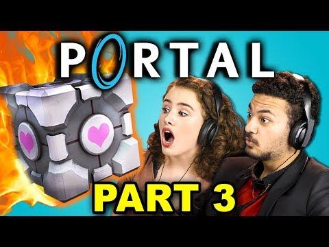 KILL MY FRIEND!?   PORTAL - Part 3 (React: Let's Plays)