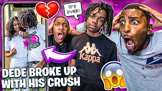 DEDE3X BROKE UP WITH HIS CRUSH?& FLIGHT WANTS TO 1V1 FUNNYMIKE!?