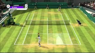 Grand Slam Tennis 2 (Nadal Vs Djokovic) Superstar (Highest Difficulty)