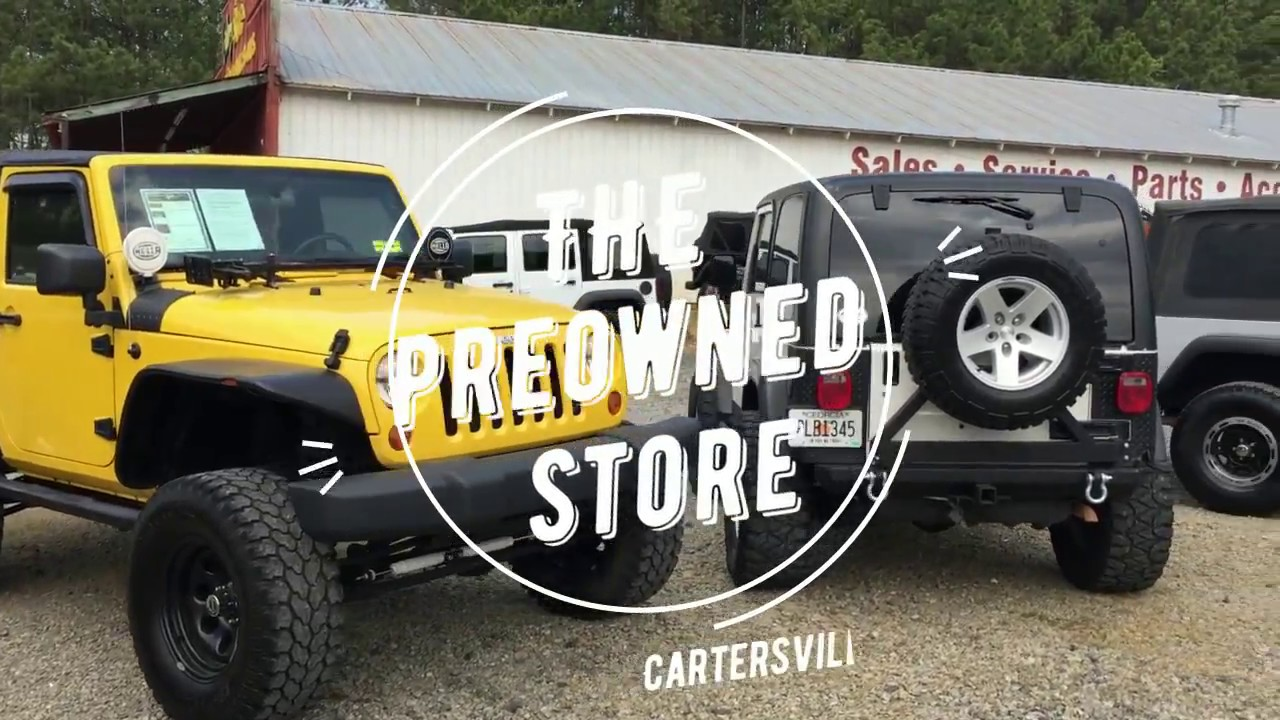 Preowned Jeep Store!