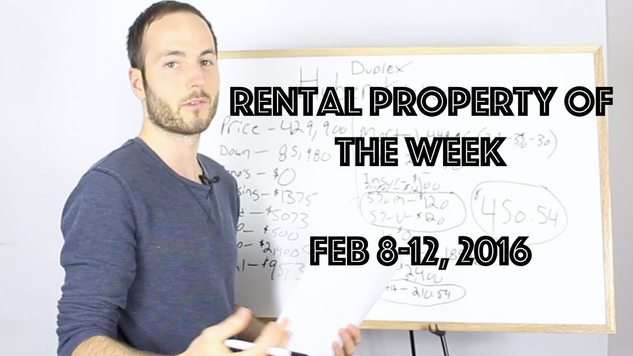 Kitchener-Waterloo Investment Property Of The Week - Ep 1 - YouTube