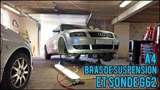 [Audi A4 Cab] EP1 - Bras de suspension + sonde G62