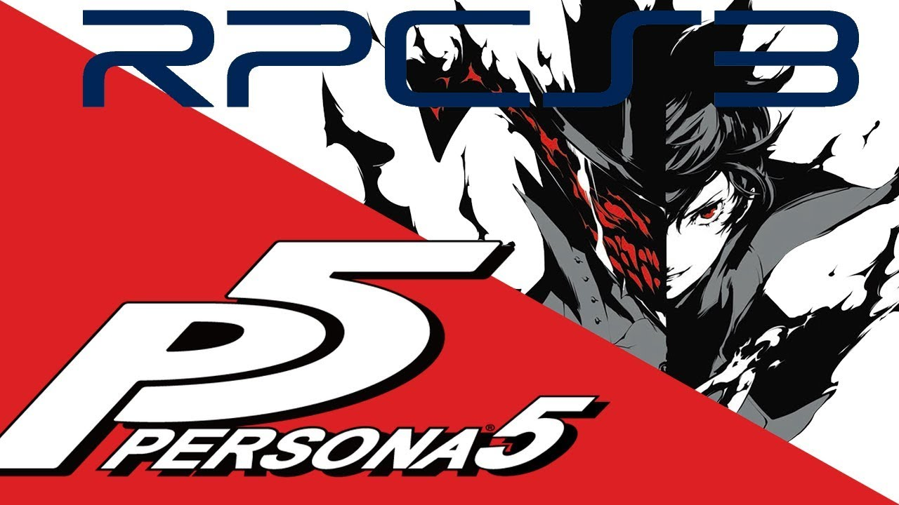PERSONA 5 NO EMULADOR DE PLAYSTATION 3 | RPCS3 EMULATOR