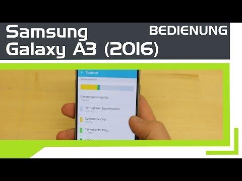 Samsung Galaxy A3 (2016) - Bedienung