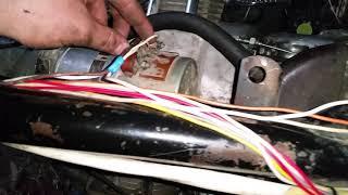 Установили днепровский двигатель в трицикл из урала и с чем столкнулись.