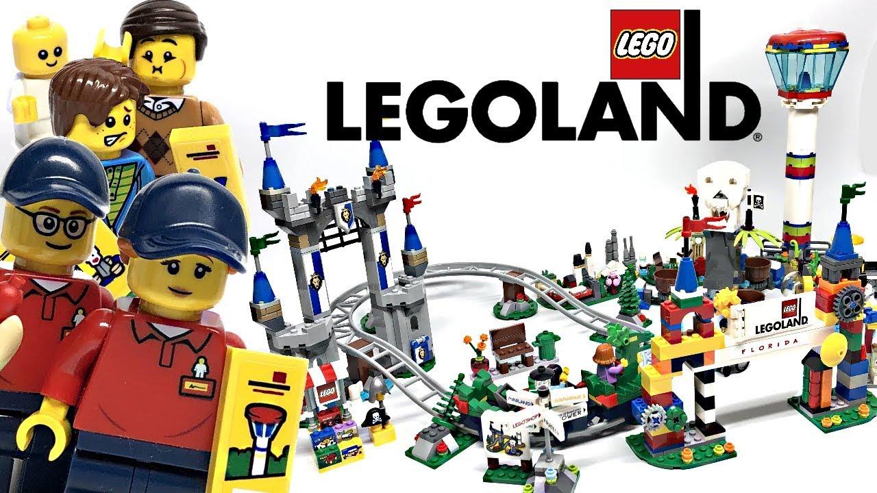 LEGOLAND Park review! 2019 set 40346! - YouTube