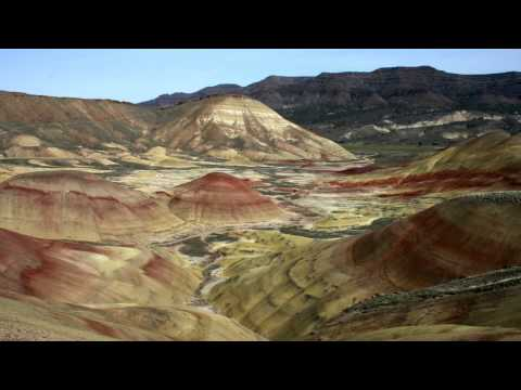 The Painted Hills of Oregon HD 1080p