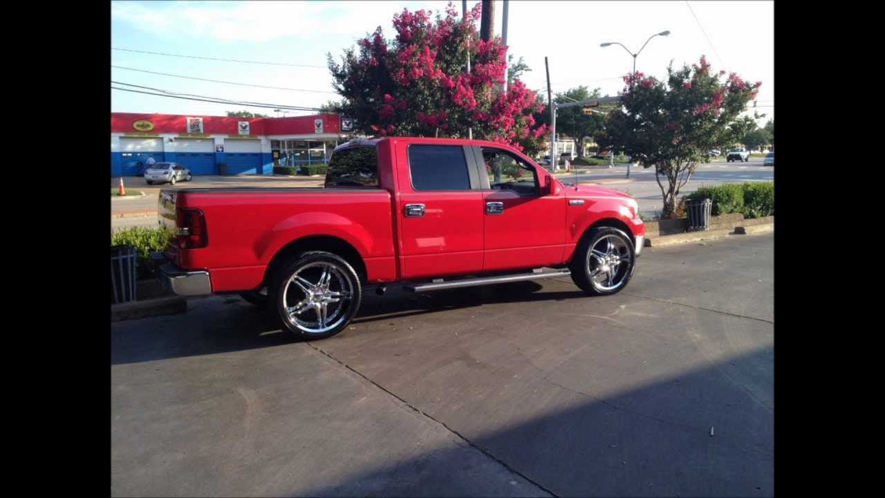 F150 and suburban on 24s before and after pics youtube freerunsca Images