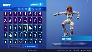 MOONWALKER SKIN SHOWCASE MIT ALLEN FORTNITE DANCES & EMOTES