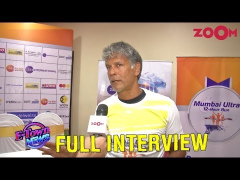Milind Soman reveals how he maintains his fitness at the age of 53 | Exclusive Interview
