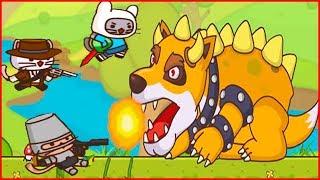 СРАЖЕНИЕ С ФОКСЗЕРОМ Ударный отряд котят 3 мультик игра StrikeForce Kitty от Фаника