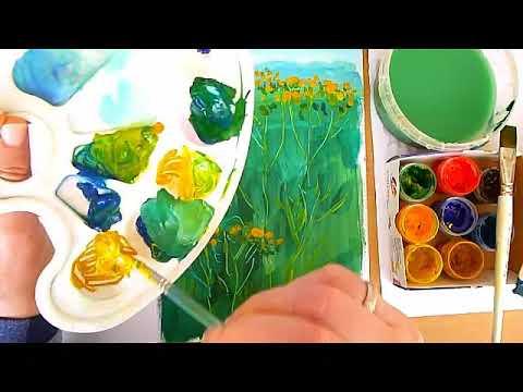 1 клас. Мистецтво. Малюємо трави