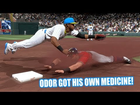 Rougned Odor Got a Taste of His Own Medicine! - MLB The Show 17 Battle Royale Diamond Dynasty