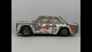 Matchbox 1982 FIAT Abarth - Custom Video