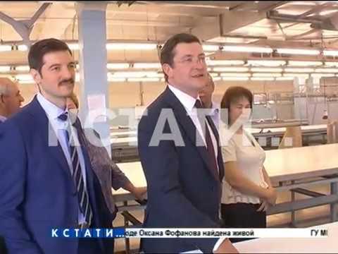 Глеб Никитин посетил сегодня Ардатовский район