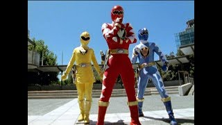 """Power rangers vs rojobot.the """"personality swapped"""" morph into action for this battle.cast: james napier (conner / red ranger), kevin duhaney (e..."""