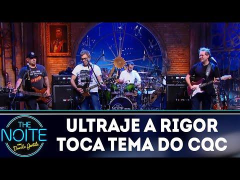 Ultraje a Rigor toca tema do CQC    The Noite (09/04/18)