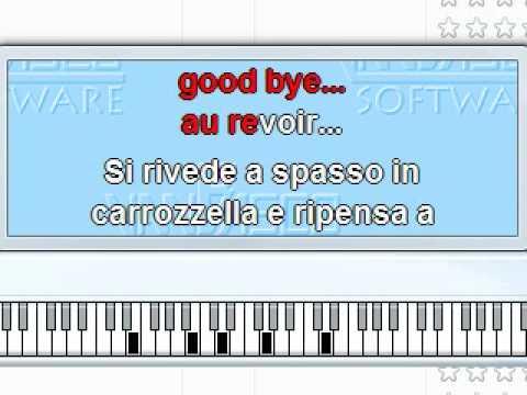Arrivederci roma karaoke