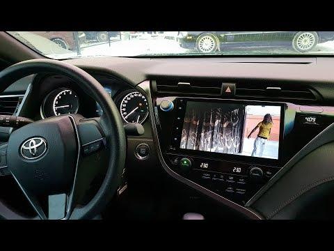 Android-магнитола для Toyota Camry 2018+