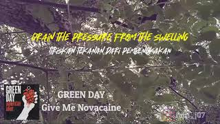 Lyrics Story GREEN DAY - GIVE ME NOVACAINE