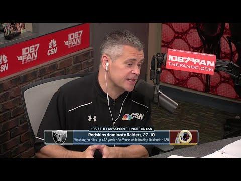 Redskins Defense Shuts Down Oakland