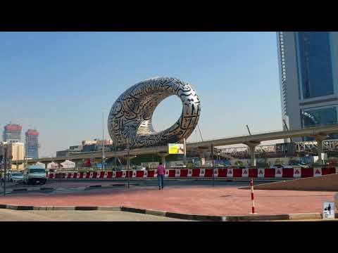 THE MUSEUM OF THE FUTURE // DUBAI MUSEUM // ICONIC BUILDING