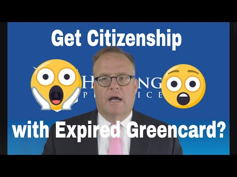 Applying for Citizenship with Expired GreenCard