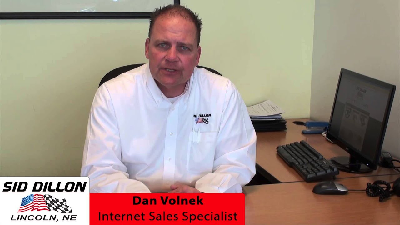 Sid Dillon Lincoln Ne >> Dan Volnek Internet Sales Specialist At Sid Dillon Lincoln Youtube