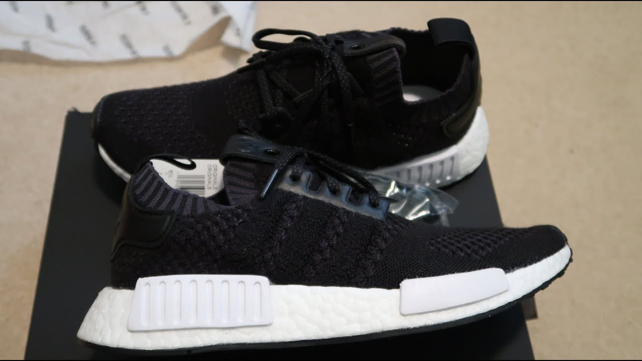 7bcb8af5f73c A Ma Maniere x Invincible x Adidas NMD R1 Primeknit Sneaker Unboxing ...