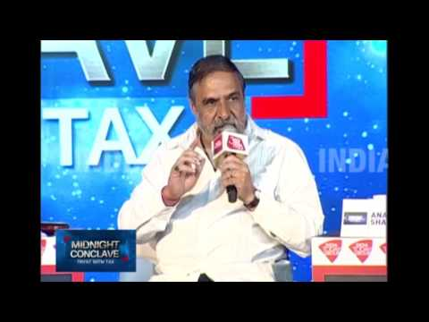 Midnight Conclave: Tryst With Tax, Anand Sharma Speaks