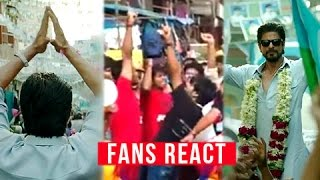 Raees official trailer - fans reaction | shah rukh khan | nawazuddin siddiqui | mahira khan
