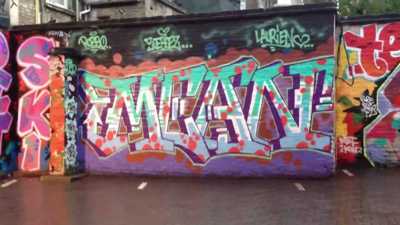 Cbtv On Our Travels Vol 22 London Graffiti Youtube