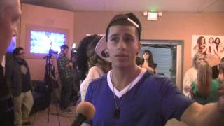 'X Factor' - Carlito Olivero Backstage Interview (11-13-13)