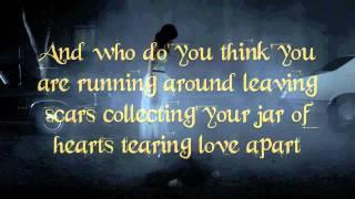 Jar Of Hearts Karaoke/Instrumental