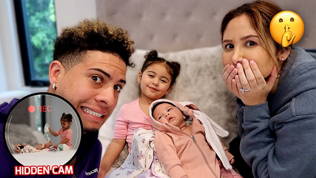 elle-babysits-her-newborn-sister-alone-you-won-t-believe-what-she-did-hidden-camera