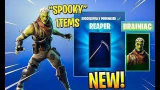 *NEW* BRAINIAC SKIN & REAPER AXE!!| FORTNITE BATTLE ROYALE| FORTNITEMARES SOLO GAMEPLAY!!