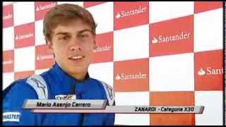 Repeat youtube video Podio y entrevista - Mario Asenjo - CEK Recas 2013